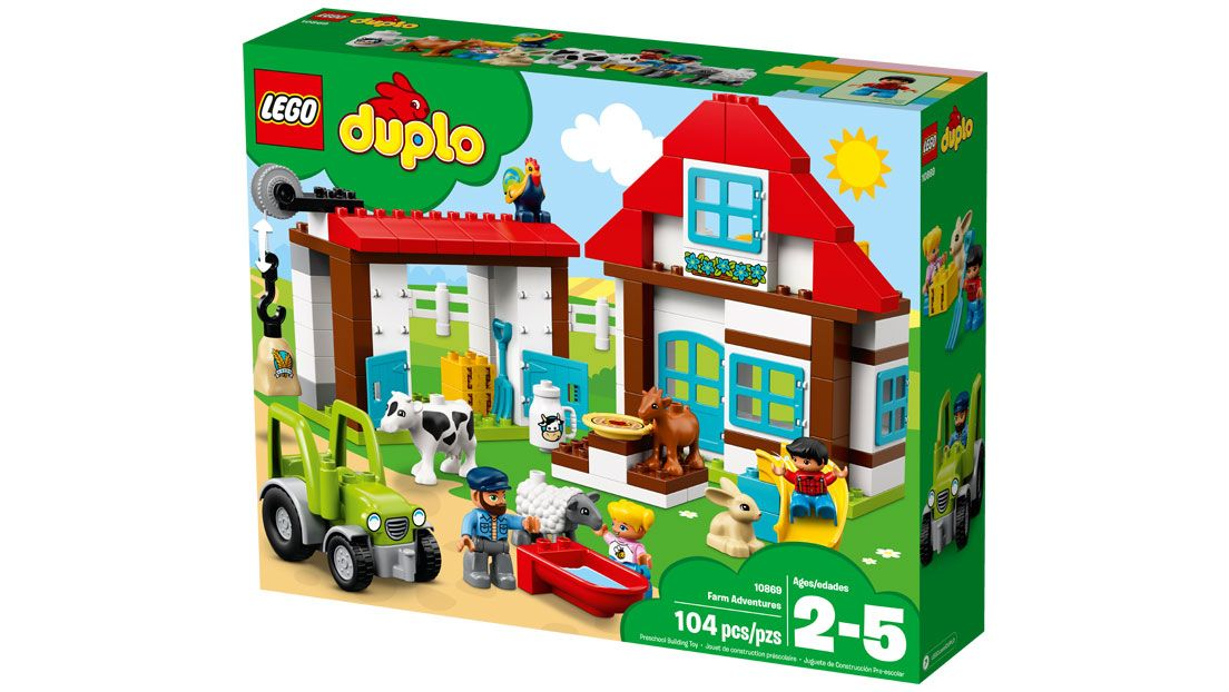 Lego Duplo Create And Connect Farm Legocom Us