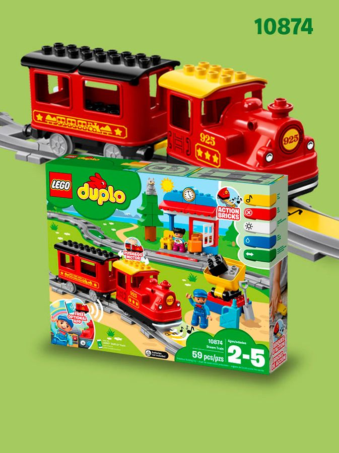 Create And Connect With The New Lego Duplo Train Lego Us