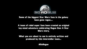 LEGO Star Wars Rogue One Go Rogue