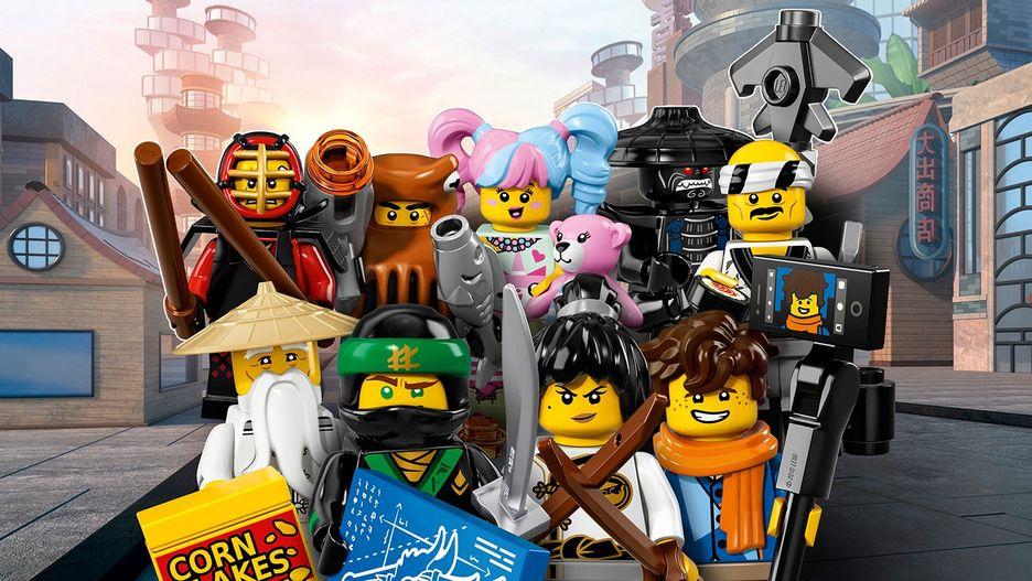 The Lego Ninjago Movie 71019 Lego Minifigures Sets Lego Com For Kids Us