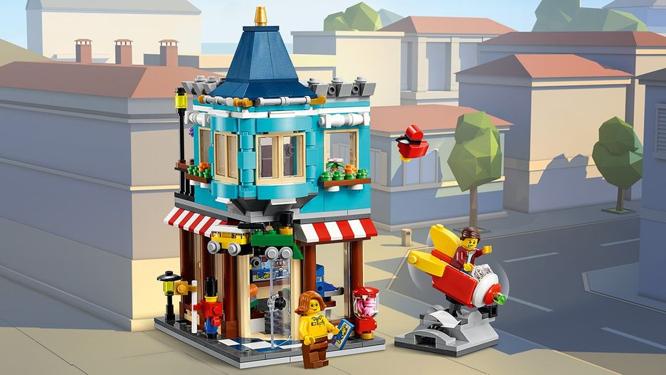 Townhouse Toy Store 31105 - LEGO Creator Sets - LEGO.com for kids - US