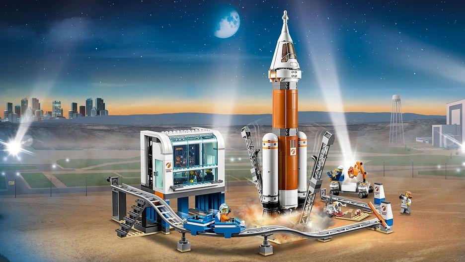 Космическая ракета и пункт управления запуском 60228 - LEGO City ...