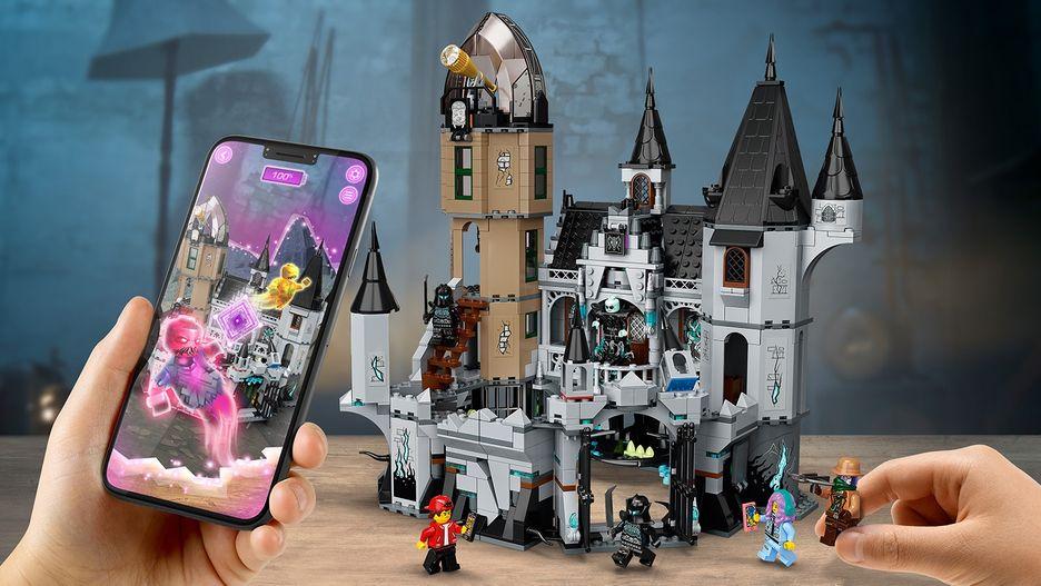 mystery castle 70437  lego hidden side sets  lego