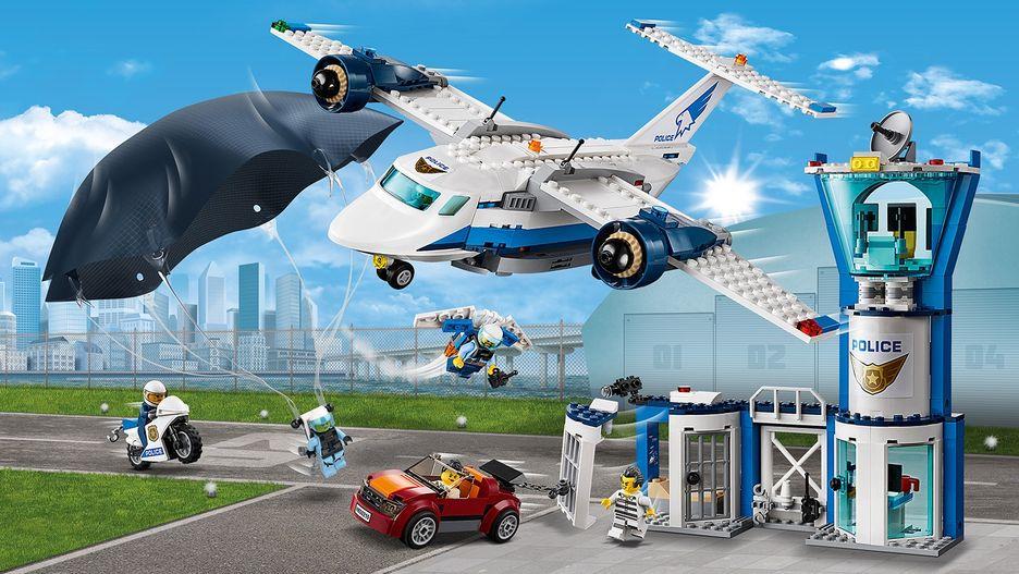 Воздушная полиция: авиабаза 60210 - LEGO City Наборы - LEGO.com ...