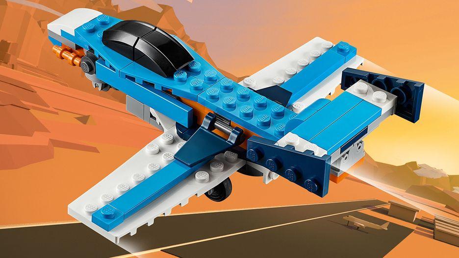 Propeller Plane 31099 - LEGO Creator Sets - LEGO.com for kids - GB