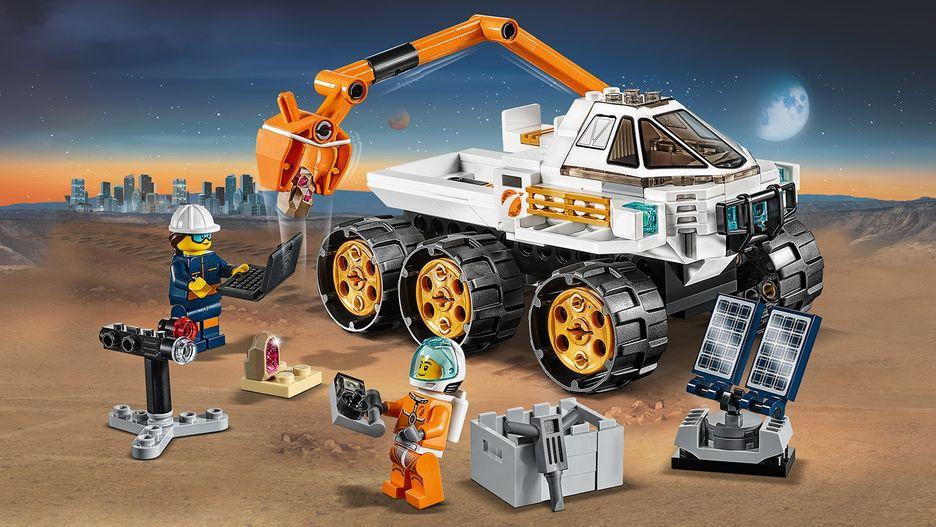 Rover Testing Drive 60225 - LEGO City Sets - LEGO.com for kids - AU