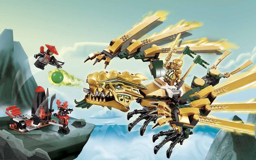 The Golden Dragon 70503 Lego Ninjago Sets Lego Com For Kids My