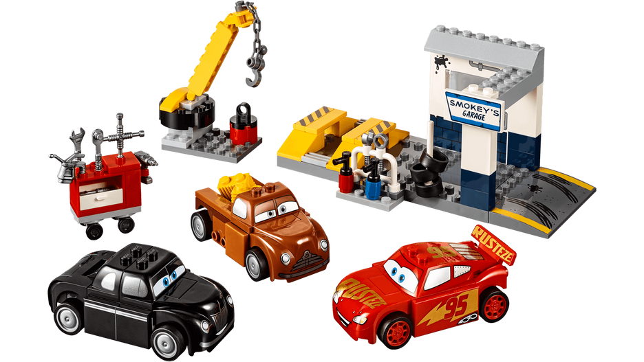 Smokey S Garage 10743 Sets Lego Com For Kids Us