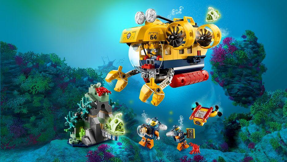 Ocean Exploration Submarine 60264 - LEGO City Sets - LEGO ...