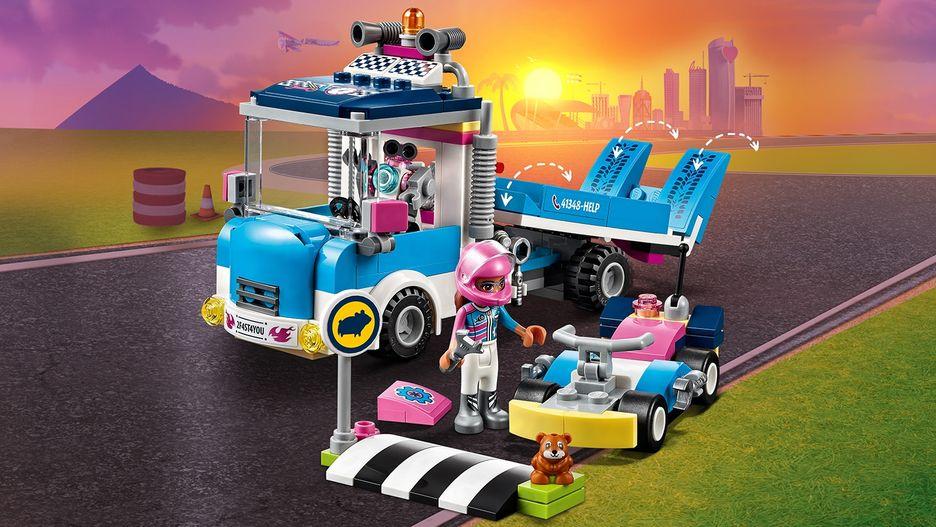 Грузовик техобслуживания 41348 - LEGO Friends Наборы - LEGO.com ...