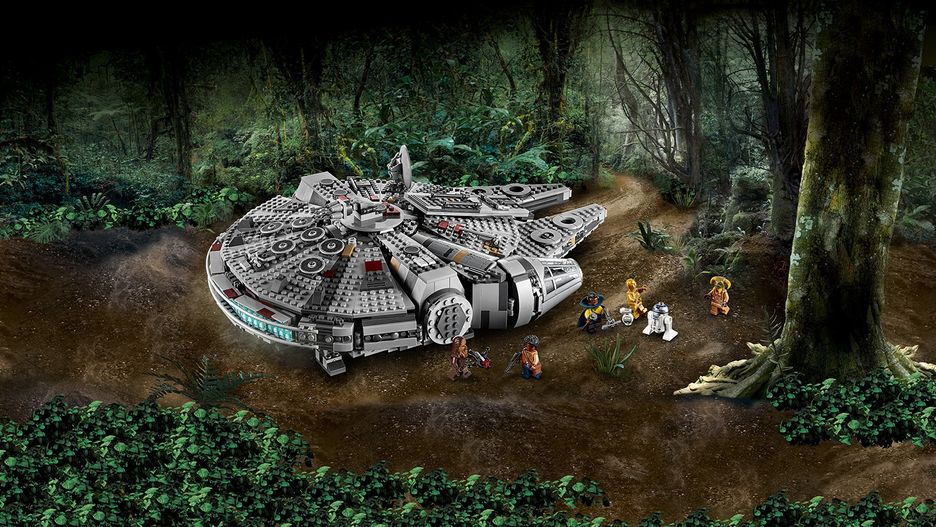 Millennium Falcon 75257 Lego Star Wars Sets Lego Com For Kids My