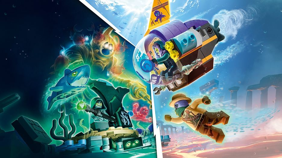jb's submarine 70433  lego hidden side sets  lego