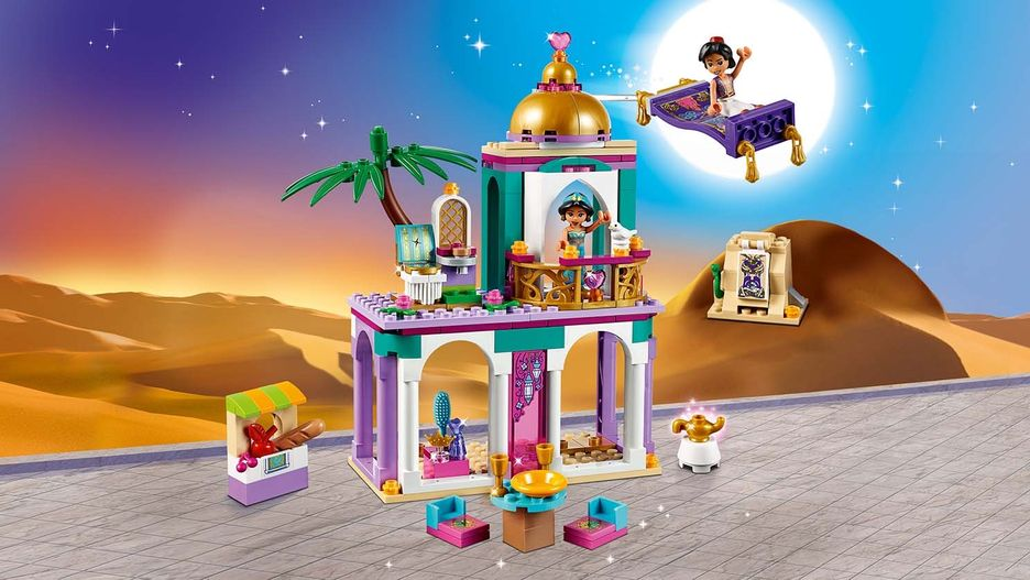 Aladdin And Jasmine S Palace Adventures 41161 Lego Disney Sets