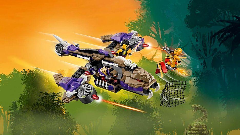 NUEVO Helicóptero de Ataque Condrai LEGO NINJAGO 70746