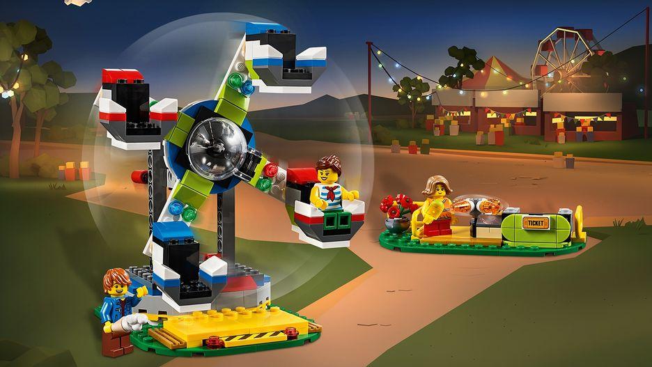 Fairground Carousel 31095 - LEGO Creator Sets - LEGO.com for kids - MY