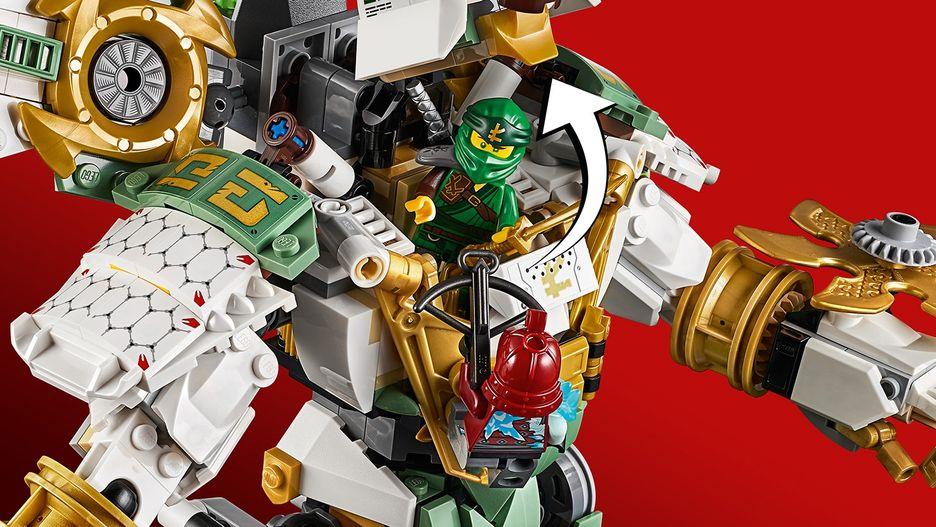Lloyd S Titan Mech 70676 Lego Ninjago Sets Lego Com For Kids Us