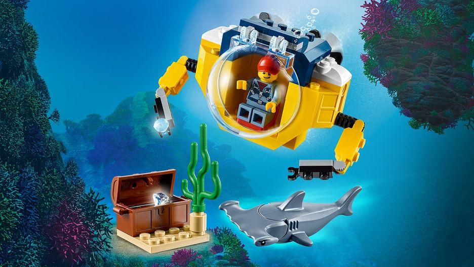 Ocean Mini-Submarine 60263 - LEGO City Sets - LEGO.com for ...