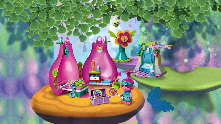 Glitter Up Your Life Together With The Pop Trolls Of Troll Village