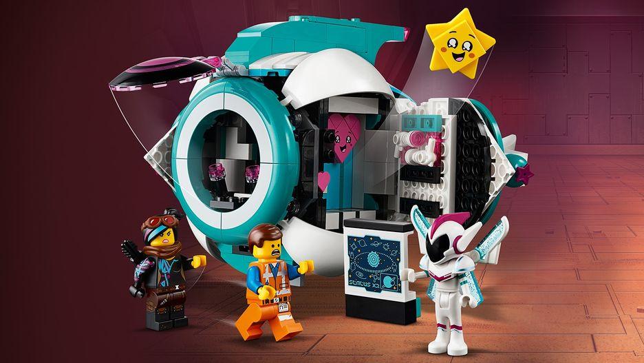 Sweet Mayhem S Systar Starship 70830 Lego The Lego Movie 2 Sets Lego Com For Kids Us