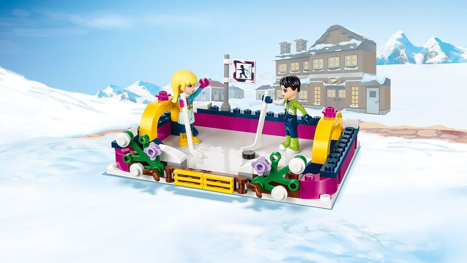 Snow Resort Ice Rink 41322 Lego Friends Sets Lego Com For Kids Us