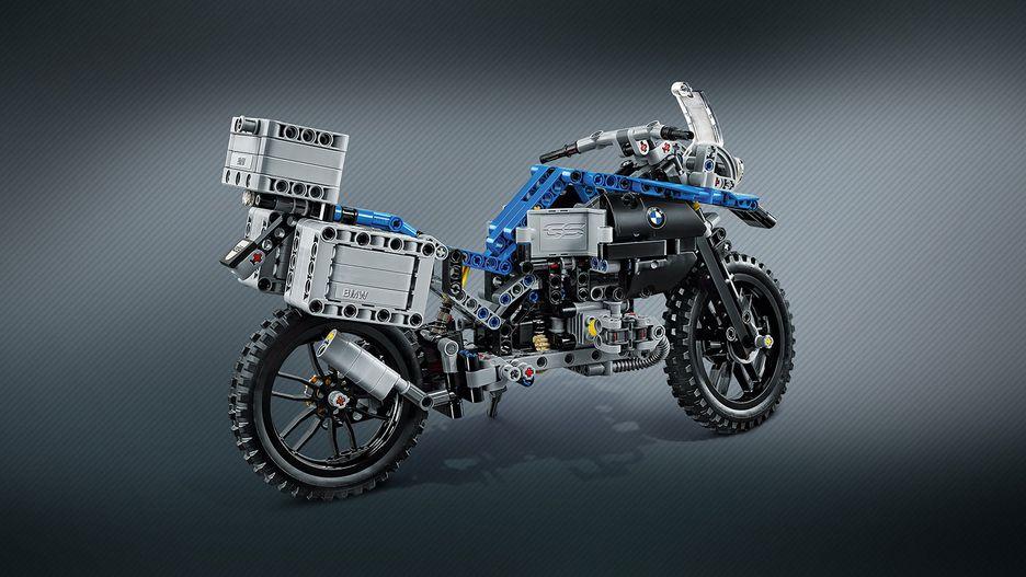 Bmw R 1200 Gs Adventure 42063 Lego
