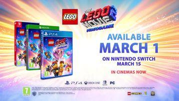 Oficiální uváděcí ukázka k videohře THE LEGO® MOVIE 2™