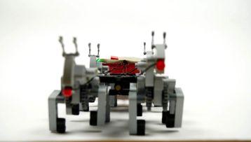 LEGO® Technic reindeer sleigh!
