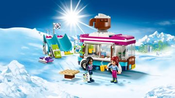 Snow Resort Hot Chocolate Van