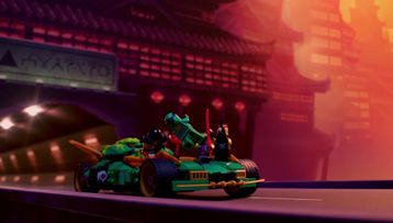 The Chase: Behind the Scenes – LEGO® NINJAGO®