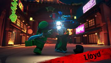 LEGO NINJAGO Character Video Meet Lloyd Princess Harumi Nya and Ultra Violet