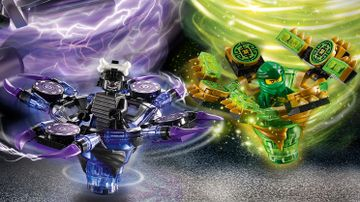Toupies Spinjitzu Lloyd vs. Garmadon