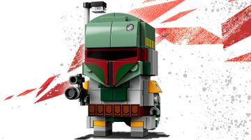 LEGO Brickheadz - 41629 Boba Fett - Build a LEGO Brickheadz version of the bounty hunter Boba Fett from the movie Star Wars: Episode V The Empire Strikes Back and display on a baseplate.