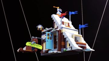 Thrills and Chills Await in the LEGO® Creator 3in1 31080 Modular Winter Vacation!