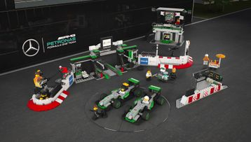 LEGO® Speed Champions - 75883 MERCEDES AMG PETRONAS Formula One™ Team