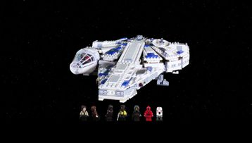 Inboxing 75212 Kessel Run Millennium Falcon