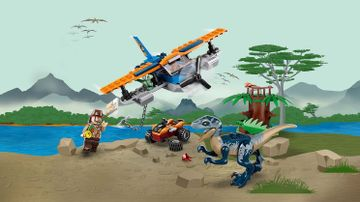 75942 - Velociraptor: Biplane Rescue Mission