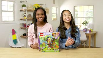 LEGO® Friends Mia's Tree House Unboxing - The Build Zone