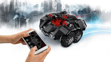 76112 App-Controlled Batmobile