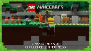 CLASSIC TALES 2: CHALLENGE 1 – A HOT MESS – Stop Motion