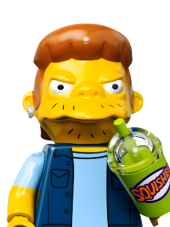 LEGO Minifigures the Simpsons 71016 Kwik-E-Mart Snake