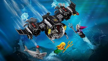 76116 Batman Batsub and the Underwater Clash