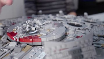 UCS Millennium Falcon Designer Video 75192