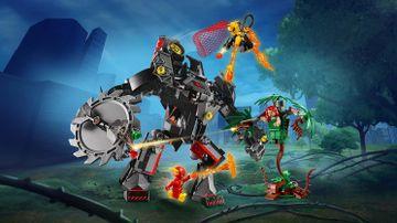 Batmans robot mod Poison Ivys robot