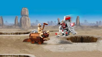 Le combat des Microfighters : T-16 Skyhopper™ contre Bantha™