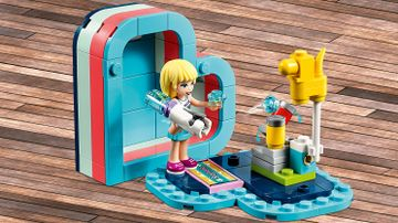 41386 Stephanie Summer Heart Box