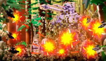 Jungle Battle Hi-jinx - LEGO® Star Wars™