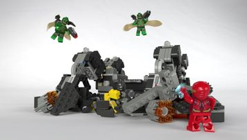 Knightcrawler tunnelangrep – Justice League – LEGO DC Super Heroes – 76086