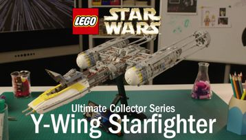 Y Wing Starfighter Designer Video 75181