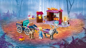 41166 Elsa s Wagon Adventure