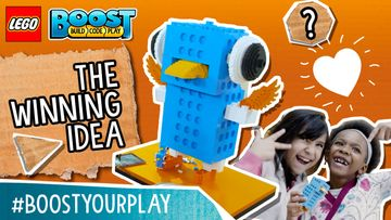 BOOSTYourPlay Winning Idea Big Farting Robot